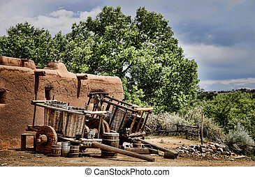 Oxcarts and Adobe