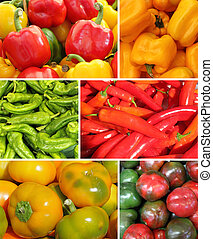 paprika collage