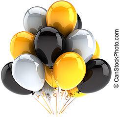 Party balloons birthday decoration