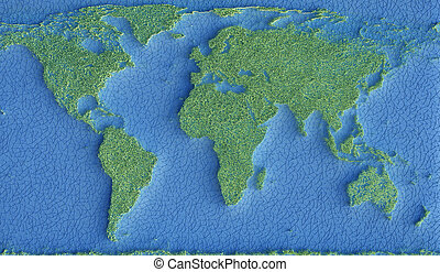 Planet Earth Ecology Sustainable