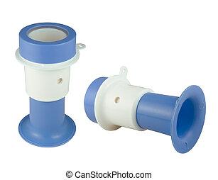Plastic air horn