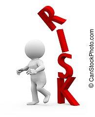 Taking a risk is sometimes dangerous