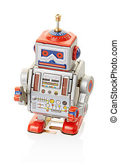 Robot vintage toy