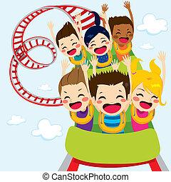 Roller Coaster Children