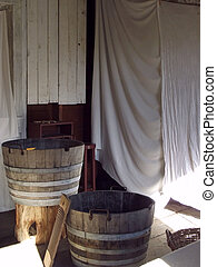 Rustic Laundry House