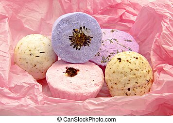 Scented glycerin soaps