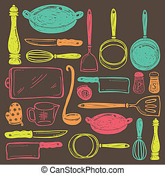 seamless cooking utensil