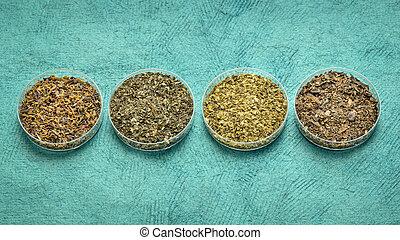 seaweeds - diet supplement set