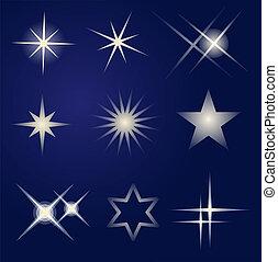 Set of bright stars