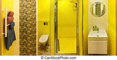 Shower Area in Bathroom