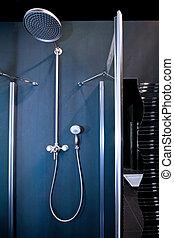 Shower blue