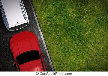 Side Parking Illustration