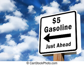 $5 gas prices