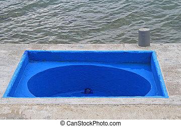 Bathtub at Sea