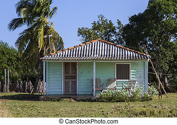 Small residential home on Cuba
