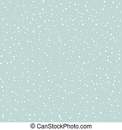 Snow goes in the sky. A vector illustration