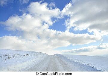 Snow Scape Beauty