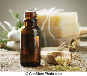 Spa Treatment. Aromatherapy. Essence