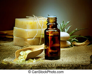 Spa Treatment. Aromatherapy. Essential Oil