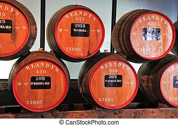 Storage of expensive vintage wine Madeira