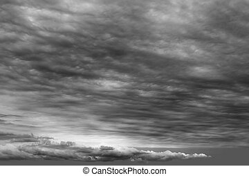 stormy clouds cloudscape dark gray cloudy winter day