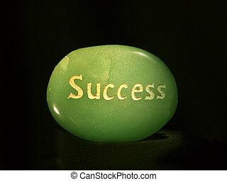 Success Lit up
