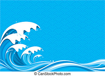 Surf Graphic of vector illustration file No gradient fill.