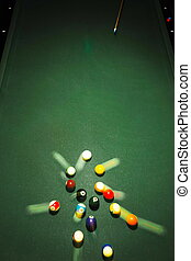Table for billiards