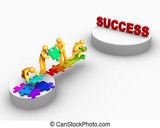 Team Work For Success.
