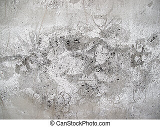 old white grunge wall