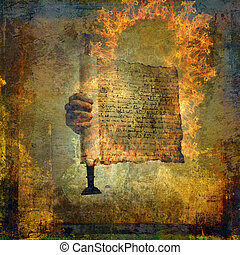 The Burning Word