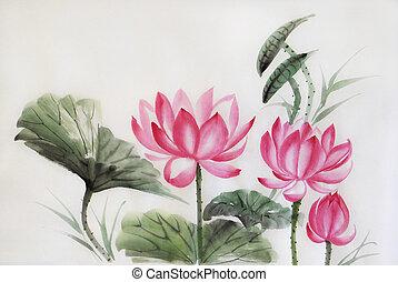 Tree lotuses