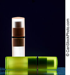 bottles with perfume