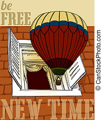 new journey in a balloon