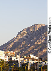 View from the port, Denia Spain