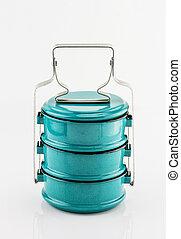 Vintage Metal Tiffin ,Food Carrier