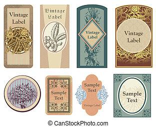 Vintage Vector Labels