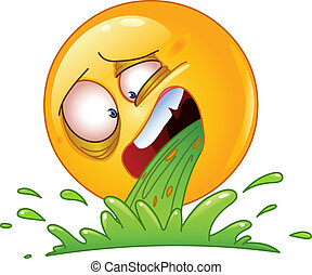 Emoticon vomiting
