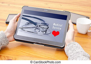 web tablet medical services