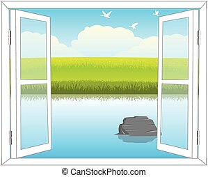 Window in nature