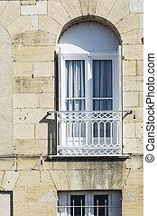 Window with light balcony