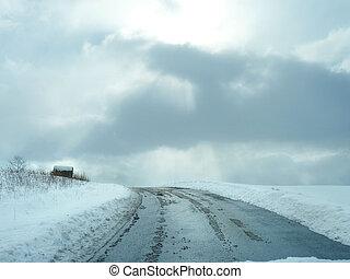 Winter Farm Road