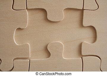 Wooden jigsaw 1