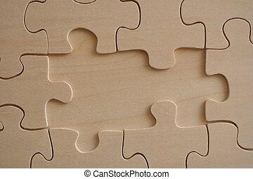 Wooden jigsaw 3